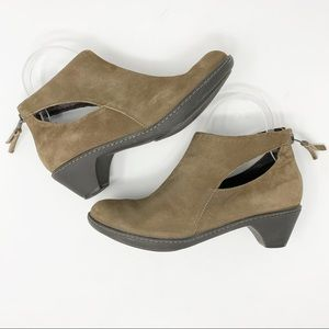 Dansko Tan Suede Leather Ankle Boots Size 36